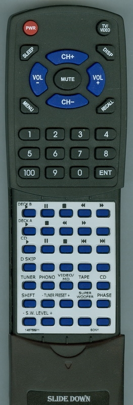 SONY 1-467-603-11 RMT-M25A Custom Built Redi Remote