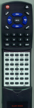 SONY 1-475-027-21 RMT-V202A Custom Built Redi Remote