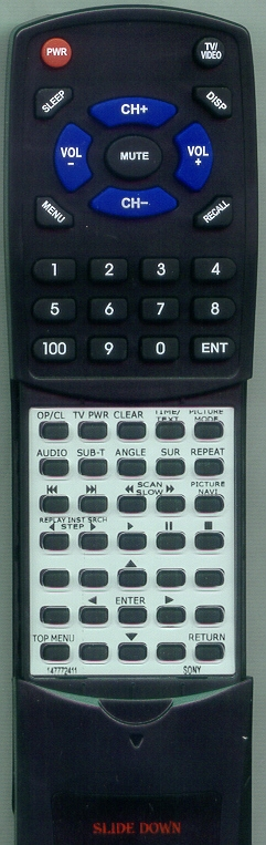 SONY 1-477-724-11 RMT-D153A Custom Built Replacement Redi Remote