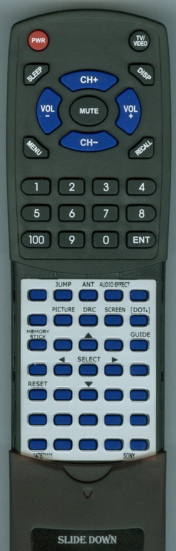 SONY 1-478-711-11 RM-Y199 Custom Built Redi Remote