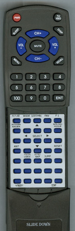 SONY 1-478-825-11 RM-Y1004 Custom Built Redi Remote