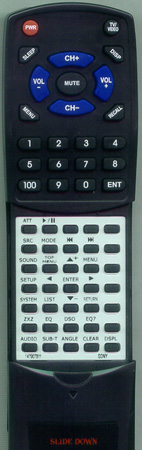 SONY 1-479-078-11 RM-X702 Custom Built Redi Remote