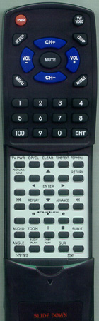 SONY 1-479-179-12 RMT-D175A Custom Built Redi Remote