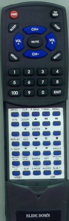 SONY 1-479-326-11 RMTD179A Custom Built Replacement Redi Remote