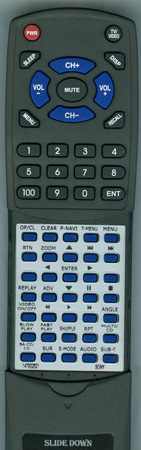 SONY 1-479-326-21 RMT-D180A Custom Built Redi Remote