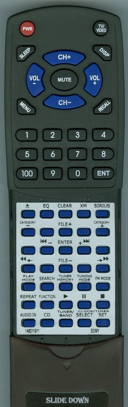 SONY 1-480-119-11 RM-SCR32 Custom Built Redi Remote