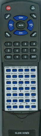 SONY 1-480-198-11 RM-AAL008 Custom Built Redi Remote