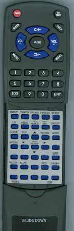 SONY 1-487-829-12 RM-YD040 Custom Built Redi Remote