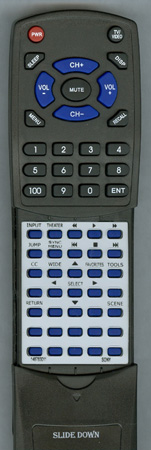 SONY 1-487-830-11 RM-YD034 Custom Built Redi Remote