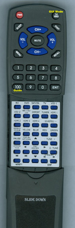 SONY 1-487-857-11 RMAAP051 Custom Built Redi Remote