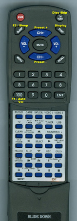 SONY 1-489-374-11 RMAAP061 Custom Built Redi Remote
