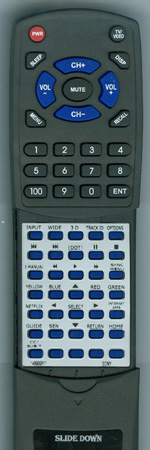 SONY 1-489-998-11 RM-YD073 Custom Built Redi Remote