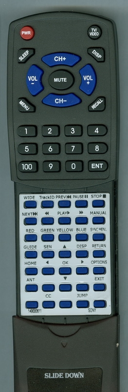 SONY 1-490-006-11 RM-YD079 Custom Built Redi Remote