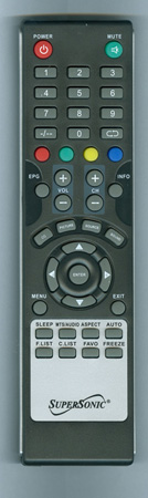 SUPERSONIC SC1311 Genuine OEM Original Remote