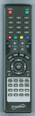 SUPERSONIC SC1312 Genuine OEM Original Remote