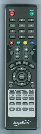 SUPERSONIC SC1512 Genuine OEM Original Remote