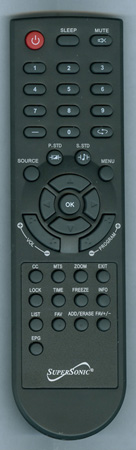SUPERSONIC SC1560 Genuine  OEM Original Remote