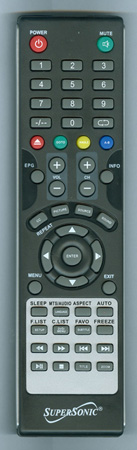 SUPERSONIC SC1912 Genuine OEM Original Remote
