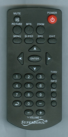 SUPERSONIC SC195D Genuine  OEM Original Remote