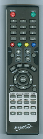 SUPERSONIC SC2212 Genuine OEM Original Remote