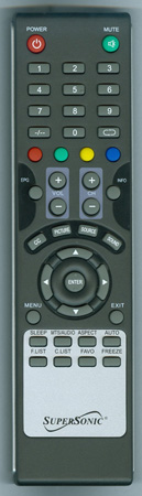 SUPERSONIC SC2411 Genuine OEM Original Remote