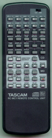TASCAM E00935600A RCMC1 Genuine OEM original Remote