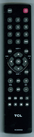 TCL RC3000N02 Genuine  OEM Original Remote