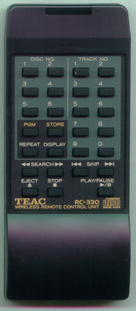 TEAC 9A01166900 RC-330 Genuine OEM original Remote