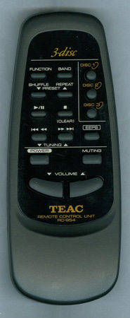 TEAC RC-954 RC954 Genuine OEM Original Remote