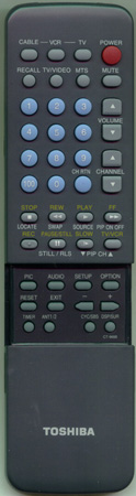 TOSHIBA 23120259 CT9668 Genuine  OEM Original Remote