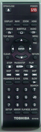 TOSHIBA AH700347 SE-R0168 Genuine OEM Original Remote