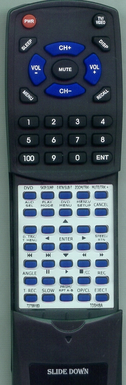 TOSHIBA 72799183 WC-SB1 Custom Built Redi Remote