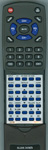 TOSHIBA 75037885 CT-8037 Custom Built Replacement Redi Remote Control