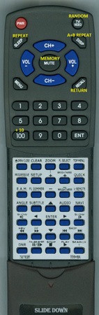 TOSHIBA 79078085 SER0070 Custom Built Redi Remote