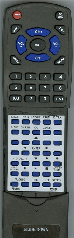 TOSHIBA AE005860Custom Built Redi Remote