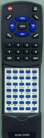 TOSHIBA AE008159 Custom Built Redi Remote
