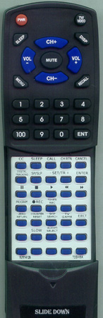 TOSHIBA BZ614129 Custom Built Redi Remote