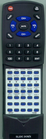 TOSHIBA BZ614221 Custom Built Redi Remote
