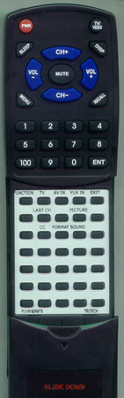 TRUTECH PLV16190-RMT B Custom Built Replacement Redi Remote