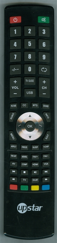 UPSTAR P40EA8 Genuine OEM Original Remote