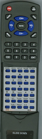VALOR DV169 DV-169T Custom Built Replacement Redi Remote