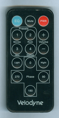 VELODYNE 79-019 Genuine  OEM Original Remote