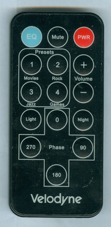 VELODYNE 79-024 Genuine OEM Original Remote