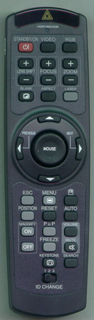 VIEWSONIC A-00001757 Genuine OEM Substitute Remote