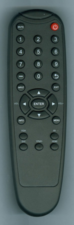 VIEWSONIC A-00008842 Genuine OEM Substitute Remote