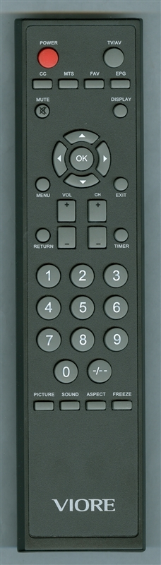 VIORE 118020075 Genuine  OEM original Remote