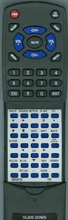 VIZIO 0980-0306-1020 Custom Built Redi Remote