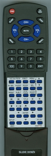 VIZUALOGIC 07-0036-000 90-3015 Custom Built Redi Remote