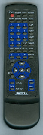VOCOPRO GIGMAN Genuine OEM Original Remote