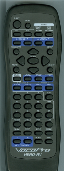 VOCOPRO HERO-RV Genuine OEM original Remote